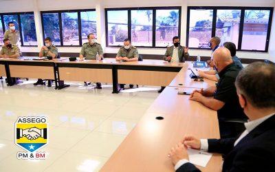Reunião com o Comando Geral da Policia Militar e Bombeiro Militar de Goiás