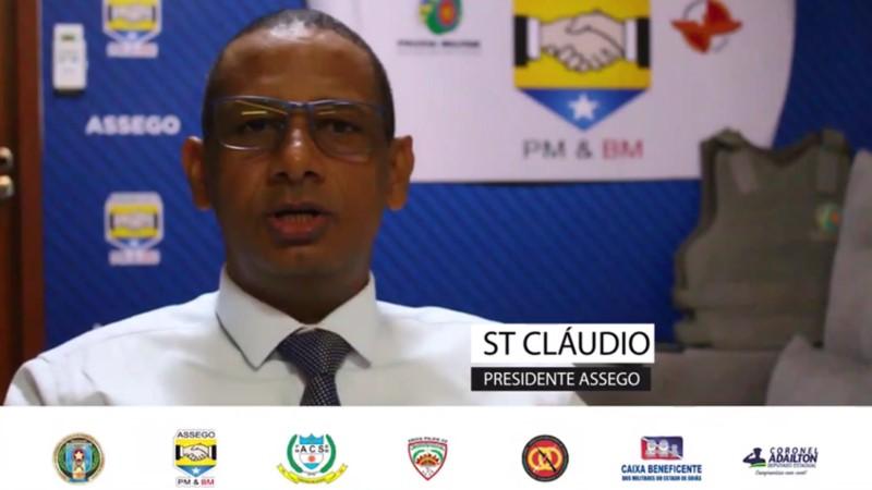 Assego manifesta descontentamento com a falta de diálogo do governador de Goiás