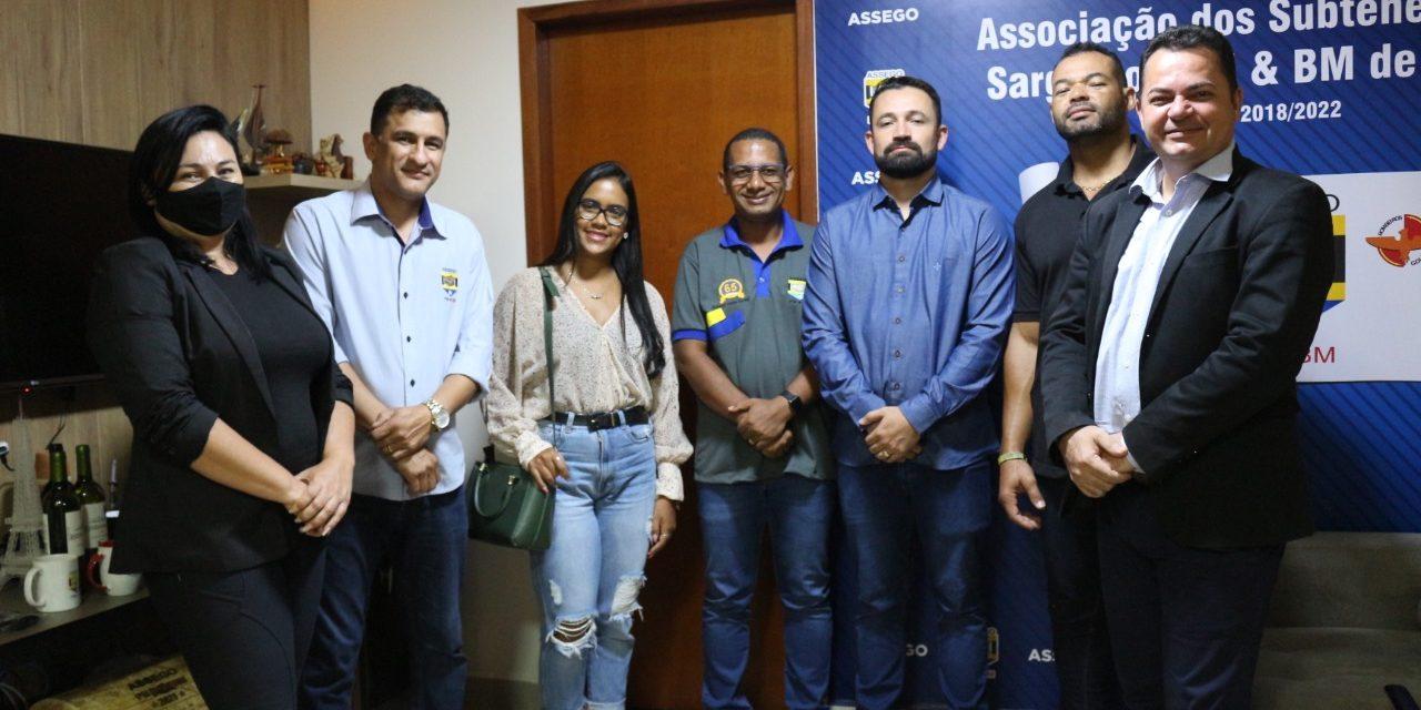 Assego recebe visita de representantes da ACS-ES