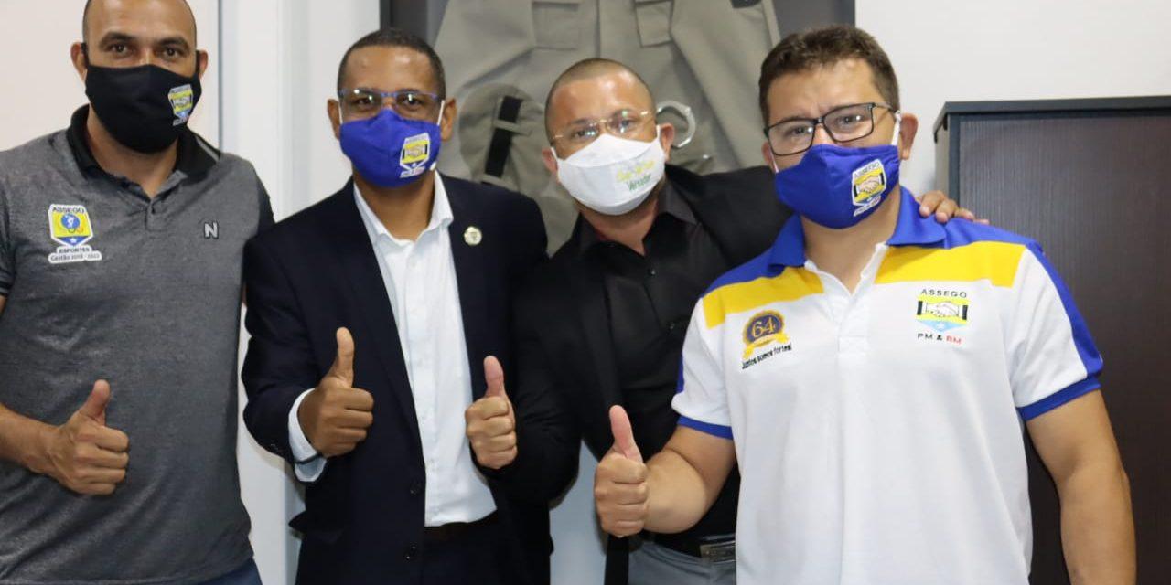 Presidente da Assego participa de reunião com vereador de Anápolis Cabo Fred Caixeta