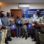 Presidente da Assego recebe visita de comandantes do 6° CRPM de Itumbiara