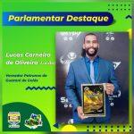 "A Assego parabeniza o vereador pelo recebimento do prêmio ""Parlamentar Destaque"""