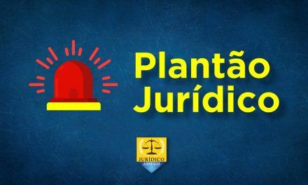 PLANTÃO JURÍDICO