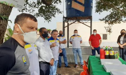 REPRESENTANTES DA ASSEGO VISITAM CASA DE RECUPERAÇÃO RENASCER EM RIO VERDE