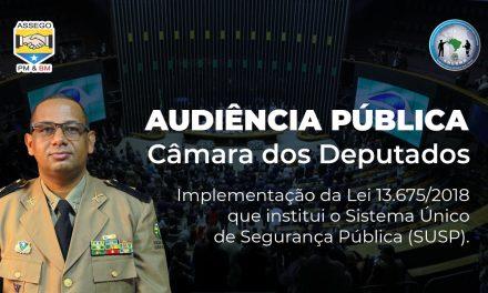 DEBATE IMPLEMENTAÇÃO DA LEI Nº 13.675/2018, QUE INSTITUI O SUSP