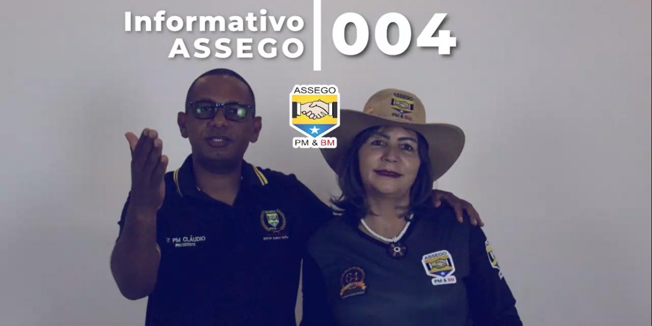 INFORMATIVO ASSEGO 004: CLUBE