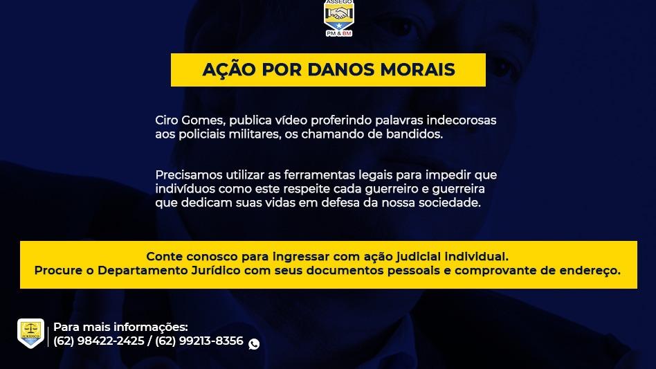 AÇÃO POR DANOS MORAIS