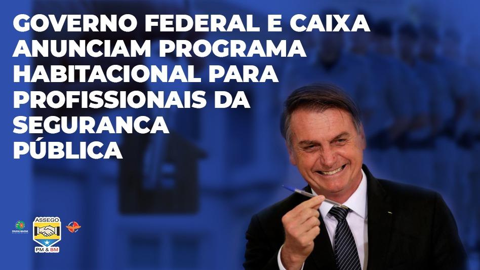 Governo Bolsonaro lança programa habitacional para profissionais da segurança pública